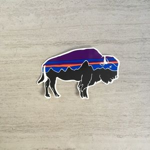 Patagonia Buffalo Sticker